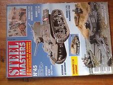 $$w Revue Steel Masters N°45 Berlin Mai 1945  M13/40  Panzerwaffe 1946  URSS