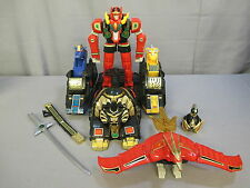 "Power Rangers ""THUNDER MEGAZORD ASSAULT TEAM & RED DRAGON THUNDERZORD"" Lot 1994"