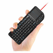 Rii k01v3 mini wireless keyboard with backlit laser pointer for smart TV PC