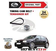 Pour VOLKSWAGEN Golf 2.0 8valve Mk4 1998 - > nouvelle courroie dentée cam + tendeur kit