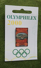 #P194. OLYMPIC 2000 OLYMPHILEX STAMP EXHIBITION PIN - ST  LOUIS  1904