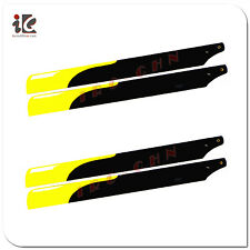 2Sets Fiber Glass Main Rotor Blade 325mm For Align Trex 450 V2/SPORT/PRO RC Heli