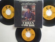 4 SONGS FROM ' URBAN COWBOY ' HIT 45's+1PS[Don't It Make You Wanna Dance] 80's !