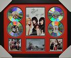 THE MCCLYMONTS 4CD SIGNED FRAMED MEMORABILIA LIMITED EDITION