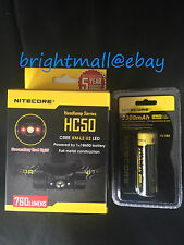 NEW 2016 version NITECORE HC50 760 Lumens Headlamp Headlight w/ 2300mAh battery