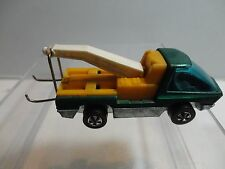 Hot Wheels Red Line The Heavyweights Aqua Tow Truck Dark Int w/HK Base Mint