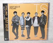 FTIsland JUST DO IT 2016 Taiwan Ltd CD+DVD+Card (Ver.B) F.T Island