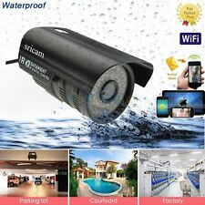 New IR Outdoor Waterproof Wireless Wifi IP Camera Webcam Night Vision Global EXP