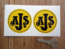 AJS Motorcycle Classic Bike Stickers 73mm Pair STORMER Starmaker Villiers Moto X