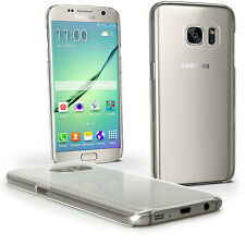Clear Hard Plastic Case for Samsung Galaxy S7 Edge SM-G935 Skin Bumper Cover