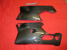 (CL) DUCATI 749 999 CARBON FIBRE BELLYPAN FAIRING LOWERS LEFT & RIGHT