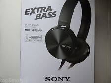 Sony MDR-XB450AP Extra Bass Smartphone Stereo Headphones (Black) - MDRXB450AP