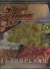 starship troopers floorplans - Mongoose Publishing - Brand New - MGP 9201