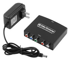 RGB Component (YPbPr) video + R/L audio Adapter Converter HD TV to HDMI 1080P WP
