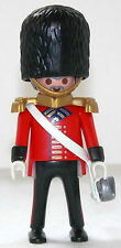 ROYAL GUARD OFFIZIER Playmobil zu Rotrock Soldat 5581 4577 Garde Top Custom 1412