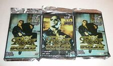 3 Rock Solid The People's Trading Card Series Booster Packs WWF WWE Wrestling