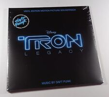 TRON LEGACY Soundtrack 2xLP BLACK VINYL *SEALED* daft punk walt disney
