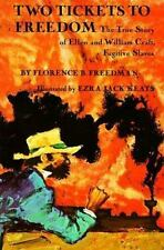 Two Tickets to Freedom: The True Story of Ellen and William Craft Fugi-ExLibrary
