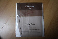 Bas nylon fully fashionned couture stockings  100% vintage carnation chair T2