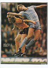 ANDY GRAY WOLVES PAUL DYSON COVENTRY CITY ORIGINAL HAND SIGNED MAGAZINE CUTTING