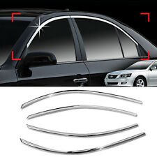 Chrome Window Frame Garnish Molding Trim C118 For HYUNDAI 2006-2008 NF Sonata