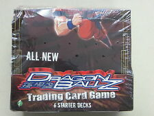 DRAGON BALL Z TRADING CARD GAME STARTER DECK BOX SCORE ENTERTAINMENT SEALED 2005