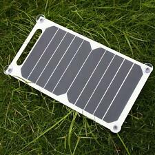 Portable 10W 5V Solar Charging Panel USB Charger For Mobile Phone Tablet