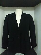 Talbots Women's Blazer size 4P black career work