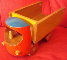 Vintage Wooden Toy Lorry with tipper action, by Jack Gould