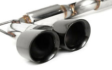Fabspeed Supercup Exhaust System Black Chrome Tips BMW X5M E70