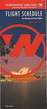 Northwest Airlines system timetable 7/1/92 [308NW] Buy 2 Get 1 Free