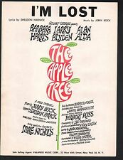 I'm Lost 1966 From the Broadway Show The Apple Tree Sheet Music