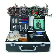 new Quality Completo set tatuar tattoo kits LCD Power 4 machines Belleza y Salud