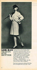 PUBLICITE  1966   GOR.RAY   skirts  jupes