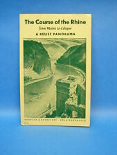 Vintage Map Of The Course Of The Rhine From Maine To Cologne Panarama