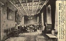 Milan Milano Mailand 1907 Hotel du Nord Salon des Dames Verlag Colleoni Callia