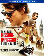 Mission: Impossible - Rogue Nation Blu-ray/DVD 2015 2-Disc Set + Digital Copy