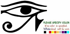Eye Of Horus Egypt Funny Vinyl Decal Sticker Car Window laptop truck tablet 12""