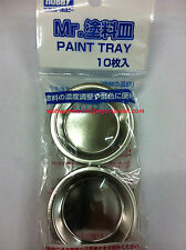 MR HOBBY Gunze D174 Mr Paint Tray 10pcs MODEL KIT SUPPLY TOOL