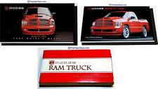 2004, 2005 or 2006 Dodge RAM SRT-10 8.3L Factory NEW Owners Manual Choose Year