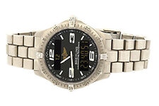 Breitling Aerospace TItanium E75362 Digital Multi Function Watch Black