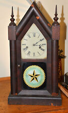 Nice Antique New Haven Clock Company Steeple Clock