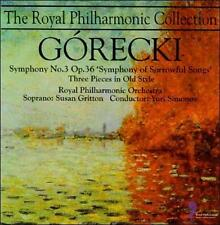 """Gorecki: Symphony 3 Opus 36 """"Symphony of Sorrowful Songs""""; Three Pieces in Old S"""