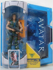 "AVATAR Movie Masters COL MILES QUARITCH 7"" FIGURE I-TAG"