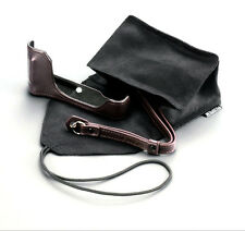 GENUINE Fujifilm Fuji Leather Case Pouch Strap for X70 BLC-X70 Camera with Box
