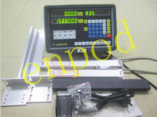2 Axis DRO digital readout for milling lathe machine with precision linear scale
