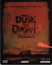 From Dusk till Dawn 1-3 Collection , 4 Disc Steelbook , 100% uncut , Blu_Ray