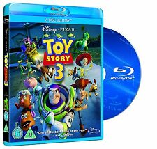 Toy Story 3 [Blu-Ray 2 Disc Region Free Disney Pixar Part 3 Three] Brand NEW