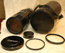 Canon FD 85-300mm f/4.5 S.S.C Lens for Film SLR Cameras, Made in Japan, SSC