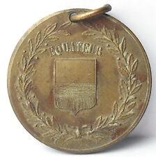 Médaille religieuse République d'Équateur Ecuador c1920 A J Corbierre 22mm Medal
